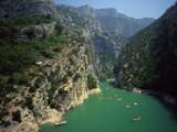 River Verdon, Grand Canyon Du Verdon Near Lac De Ste Croix, Alpes De Haute Provence, France Photographic Print by Lee Frost