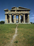 Temple of Neptune at Paestum, Near Salerno, Campania, Italy, Europe Photographic Print by Christina Gascoigne
