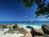 Beach Scene, Anse Lazio, Praslin, Seychelles, Indian Ocean, Africa Photographic Print by Lee Frost