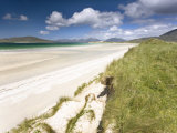 White Sand Beach of Seilebost, Isle of Harris, Outer Hebrides, Scotland, UK Photographic Print by Lee Frost