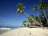 Alona Beach on the Island of Panglao Off the Coast of Bohol, in the Philippines, Southeast Asia Photographic Print by Robert Francis