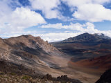 Haleakala Crater on the Island of Maui, Hawaii, United States of America, North America Photographic Print by Ken Gillham