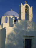 Church on the Waterfront, Parikia, Paros, Cyclades, Greek Islands, Greece, Europe Photographic Print by Robert Francis