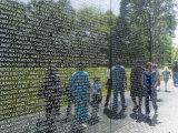 Vietnam Veterans Memorial Wall, Washington D.C., USA Photographic Print by Robert Harding