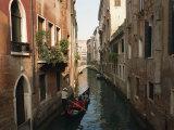Gondolas on a Canal Near Piazza San Maria Formosa. Venice, Veneto, Italy, Europe Photographic Print by Lee Frost
