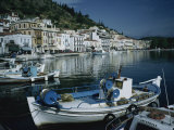 Waterfront, Gytheion, Pelopponese, Greece, Europe Photographic Print by Jennifer Fry
