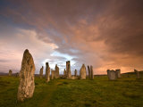 Standing Stones of Callanish, Callanish, Near Carloway, Isle of Lewis, Outer Hebrides, Scotland Photographic Print by Lee Frost