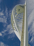 Spinnaker Tower, Harbourside, Portsmouth, Hampshire, England, United Kingdom, Europe Photographic Print by James Emmerson