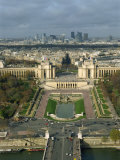 View of Paris from the Eiffel Tower, Paris, France, Europe Photographic Print by Harding Robert