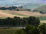 Landscape Near Enna, Sicily, Italy, Europe Photographic Print by Levy Yadid