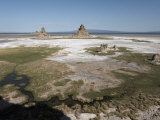Desolate Landscape of Lac Abbe, Dotted with Limestone Chimneys, Djibouti, Africa Photographic Print by Mcconnell Andrew