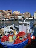 La Maddalena Harbour, Sardinia, Italy, Mediterranean, Europe Photographic Print by Miller John