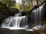 R.B. Ricketts Falls, Ricketts Glenn State Park, Pennsylvania, USA Photographic Print by James Hager
