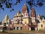 Lakshimi Narayan Temple, Dedicated to the Hindu Goddess of Wealth, Delhi, India Photographic Print by Harding Robert