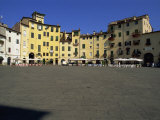 Open Square, Piazza Dell' Anfiteatro, Lucca, Tuscany, Italy, Europe Photographic Print by Morandi Bruno