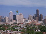 City Skyline of Calgary, Alberta, Canada, North America Photographic Print by Harding Robert