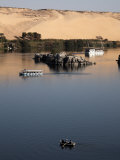 Overlooking the River Nile at Aswan, Egypt, North Africa, Africa Photographic Print by Mcconnell Andrew