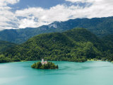 Lake Bled, Slovenia, Balkans, Europe Photographic Print by Lawrence Graham