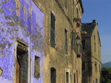 Architectural Close-Up in Penta Di Casinca, Castagniccia Region, Corsica, France, Europe Photographic Print by Miller John