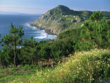 Rugged Coastline of the Lower Estuaries, Galicia, Spain, Europe Photographic Print by Maxwell Duncan