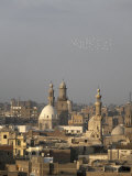 Minarets Tower over Islamic Cairo and the Area of Khan Al-Khalili, Cairo, Egypt Photographic Print by Mcconnell Andrew