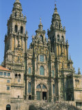 Cathedral of Santiago De Compostela, UNESCO World Heritage Site, Galicia, Spain, Europe Photographic Print by Maxwell Duncan