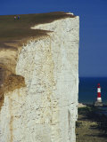Beachy Head, South Downs, Sussex, England, United Kingdom, Europe Photographic Print by Hughes David