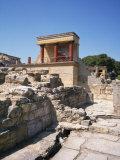 Knossos, Crete, Greece, Europe Photographic Print by Harding Robert