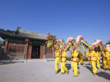 Dragon Dance, Chinese New Year, Spring Festival, Beijing, China Photographic Print by Kober Christian