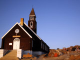 Zion Church, Ilulissat, Greenland, Polar Regions Photographic Print by Levy Yadid