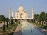 Taj Mahal, Built by Shah Jahan for His Wife, Agra, Uttar Pradesh State, India Photographic Print by Harding Robert