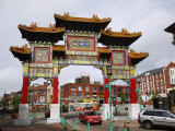 Chinatown, Liverpool, Merseyside, England, United Kingdom, Europe Photographic Print by Levy Yadid