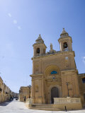 Marsaxlokk Church, Marsaxlokk, Malta, Europe Photographic Print by Kelly Michael