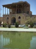 Ali Qapu Palace, Isfahan, Iran, Middle East Photographic Print by Harding Robert