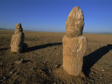 Statues, Khustai National Park, Tov, Mongolia, Central Asia Photographic Print by Morandi Bruno