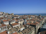 Aerial View over City Skyline, from the Santa Justa Lift, Lisbon, Portugal, Europe Photographic Print by Lightfoot Jeremy