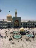 Shrine of Imam Reza, Mashad, Iran, Middle East Photographic Print by Harding Robert