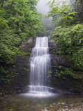 Waterfall at Mount Emei Shan, UNESCO World Heritage Site, Sichuan Province, China Photographic Print by Kober Christian