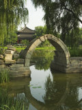 An Arched Bridge at Yuanmingyuan, Beijing, China Photographic Print by Kober Christian