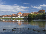 Maribor and River Drava, Slovenia, Europe Photographic Print by Lawrence Graham