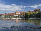 Maribor and River Drava, Slovenia, Europe Photographic Print by Lawrence Graham