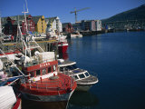 Harbour, Tromso, North Norway, Norway, Scandinavia, Europe Photographic Print by Lomax David