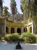 Cerro Santa Lucia and the Ornate Terraza Neptuno Fountain, Santiago, Chile Photographic Print by Gavin Hellier