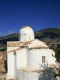 Church, Aradaenia, Chora Sfakion, Crete, Greek Islands, Greece, Europe Photographic Print by O'callaghan Jane