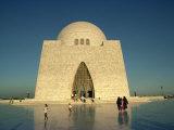 Tomb of Mohammed Ali Jinnah in Karachi, Pakistan Fotografisk trykk av Harding Robert