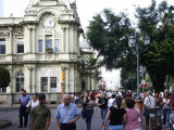 People by the Old Post Office, San Jose, Costa Rica, Central America Photographic Print by Levy Yadid