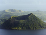 Taal Volcano, Lake Taal, Talisay, Luzon, Philippines, Southeast Asia Photographic Print by Kober Christian