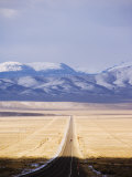U.S. Route 50, the Loneliest Road in America, Nevada, USA Photographic Print by Kober Christian