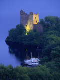 Urquhart Castle, Loch Ness, Highlands, Scotland, United Kingdom, Europe Photographic Print by Miller John