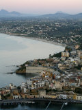 View over Castellammare Del Golfo, Sicily, Italy, Mediterranean, Europe Photographic Print by Levy Yadid